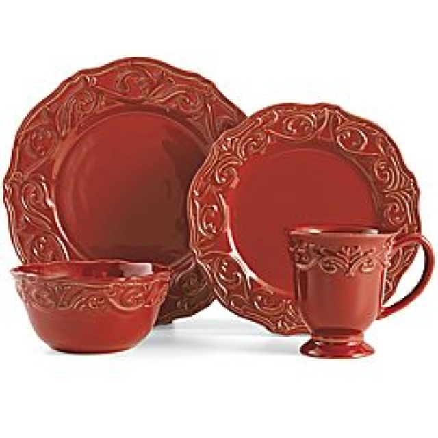 Chris Madden Corvella 16-Piece Dinnerware Set!! I Need 2