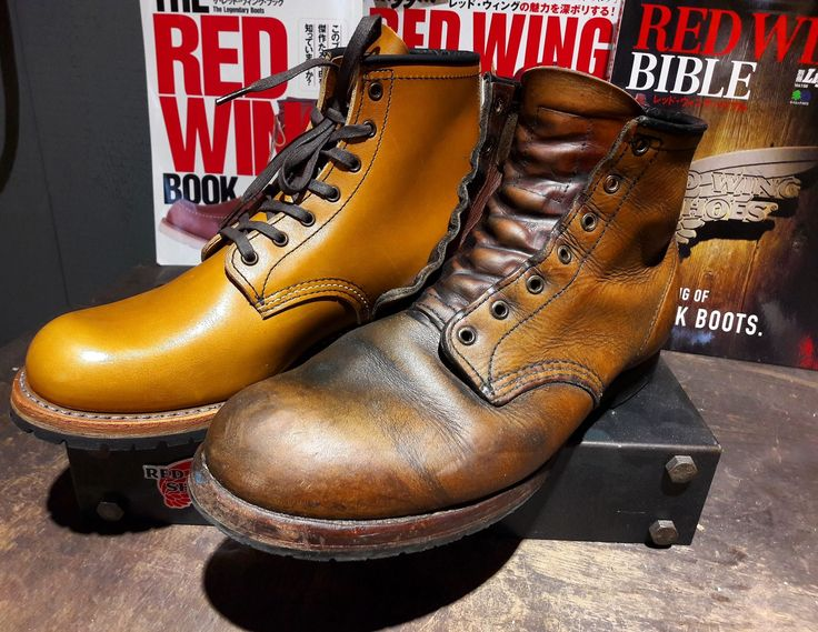 Red Wing Beckman #9013 new and 9 years old.