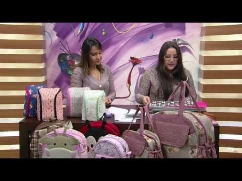 Mulher.com - 27/06/2016 - Frasqueira térmica ou porta mamadeira - Regina Heitor PT2 - YouTube