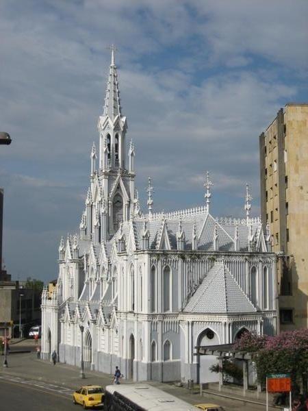 This is La Ermita in Cali, Colombia. So Beautiful!