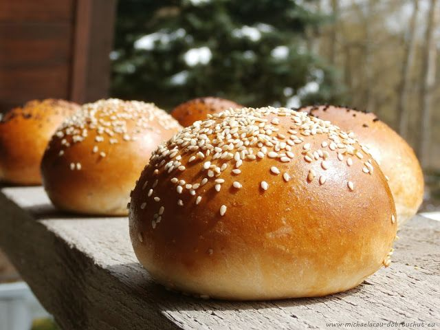 Dobrou chuť: Hamburgerové žemle