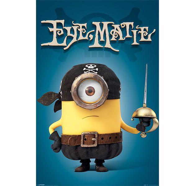 Minions Poster Eye Matie. Hier bei www.closeup.