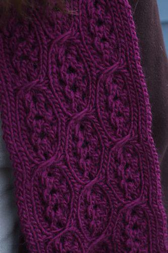 Ravelry: Shoshana Scarf pattern by Amy Herzog $5