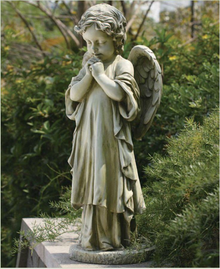 cherub ohio outdoor garden statues item like creature yard concrete gargoyle dog this statue boxer cement near decorative sleeping me milford angel