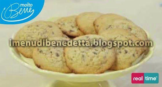 I Menu di Benedetta   Molto Bene: Biscotti Giganti con Gocce di Cioccolato