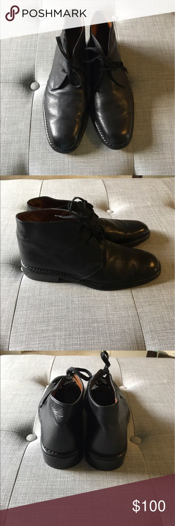 GUC John Varvatos Chukka Boots Only sign of wear in these is on the bottom - size 8.5. Beautiful shoes - leather, made in Italy. John Varvatos Shoes