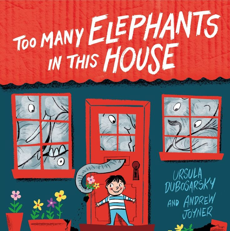 """Too many elephants in this house"" by Ursula Dubosarsky. This story is sure to spark little imaginations."