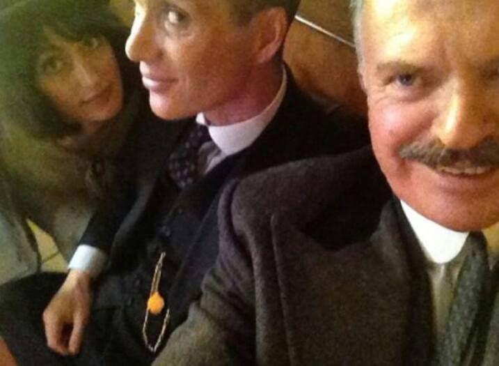 Peaky Blinders cast selfie! :D