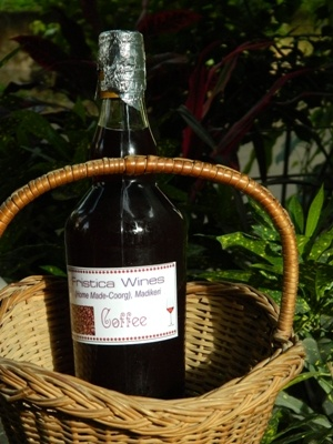 Coffee-wine-750-ml at CoorgShoppe