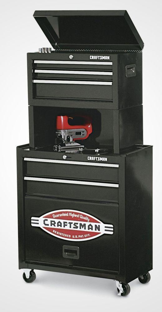 Rolling Tool Cabinet Storage Chest Box Garage Toolbox Organizer Drawer Craftsman #RollingToolCabinet