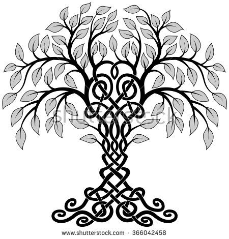 Celtic Tree Stock Vectors & Vector Clip Art | Shutterstock