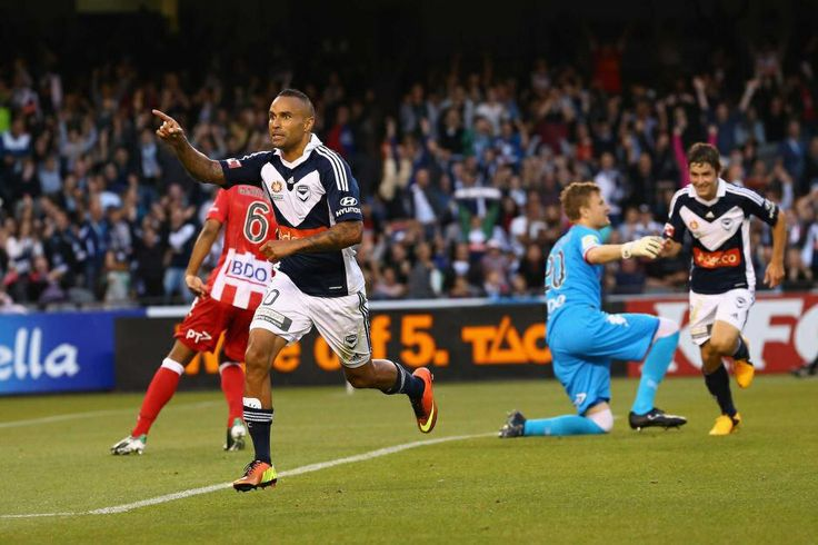 """This is a picture of Melbourne Victory/Socceroos superstar Archie Thompson. Every action that he takes on and off the field inspire me because he has belief in what he stands for. He quotes, """"whatever doesn't kill you makes you stronger"""". This supports what he does on the pitch, entertaining fans from all around the world and also off the field where he continues to stick up for what is right in our society"""