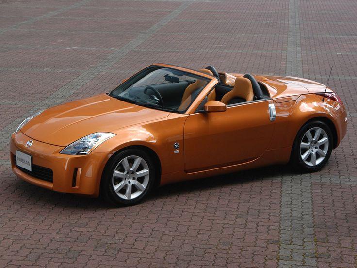 oh my nissan 350z roadster orange pinterest cars nissan 350z and nice. Black Bedroom Furniture Sets. Home Design Ideas