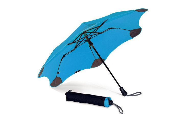 It's the strongest umbrella around, can be popped open with one hand, and is small enough to fit in your handbag. Get your Blue BLUNT XS_Metro umbrella at www.GumbootBoutique.com