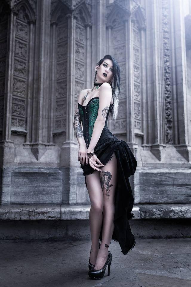 Belleza gótica.