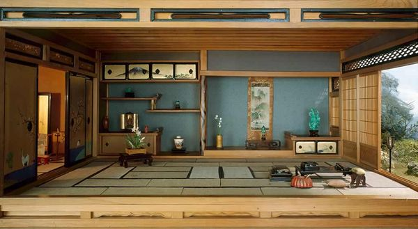 Here is one look at a traditional Japanese living space in modern day Japan.