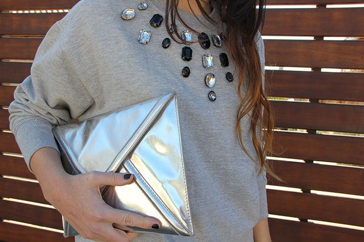 Sweatshirt DIY + Velvet short