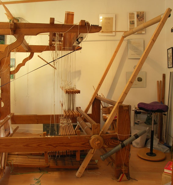 warping trapeze: Smaller Loom, Warped Valet, Weaving Helper, Textile 13 Weaving Loom, Warped Trapez, Kerstin Extra