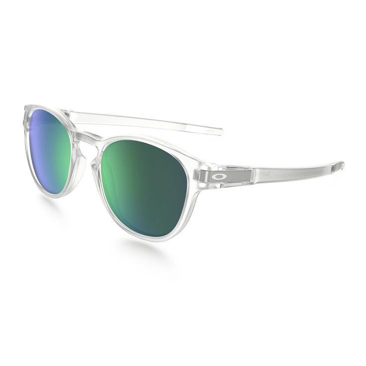 Gafas de Sol Oakley Latch Matte Clear Jade Iridium Unisex Thesurftown – The Surf Town