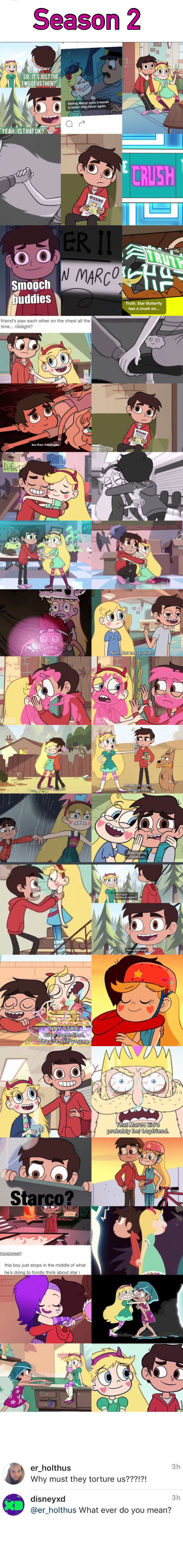 just watch them not make starco canon just to torture us even more