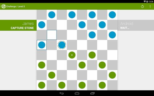 A modern take on the classic board game. Enjoy the world famous checkers board game (also known as draughts) in the palm of your hand. Experience a modern looking game with precise controls and fluent graphics.