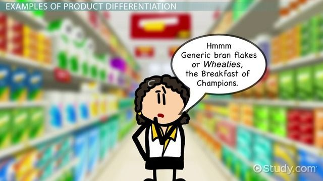 Product Differentiation in Marketing: Examples, Strategies & Definition - Video & Lesson Transcript | Study.com