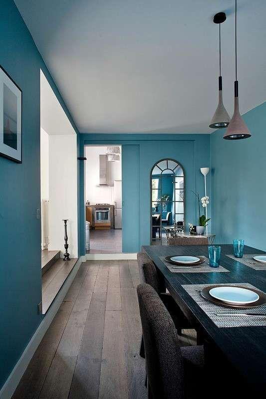 oltre 25 fantastiche idee su pareti azzurro su pinterest | vernici ... - Pareti Azzurre Camera Da Letto