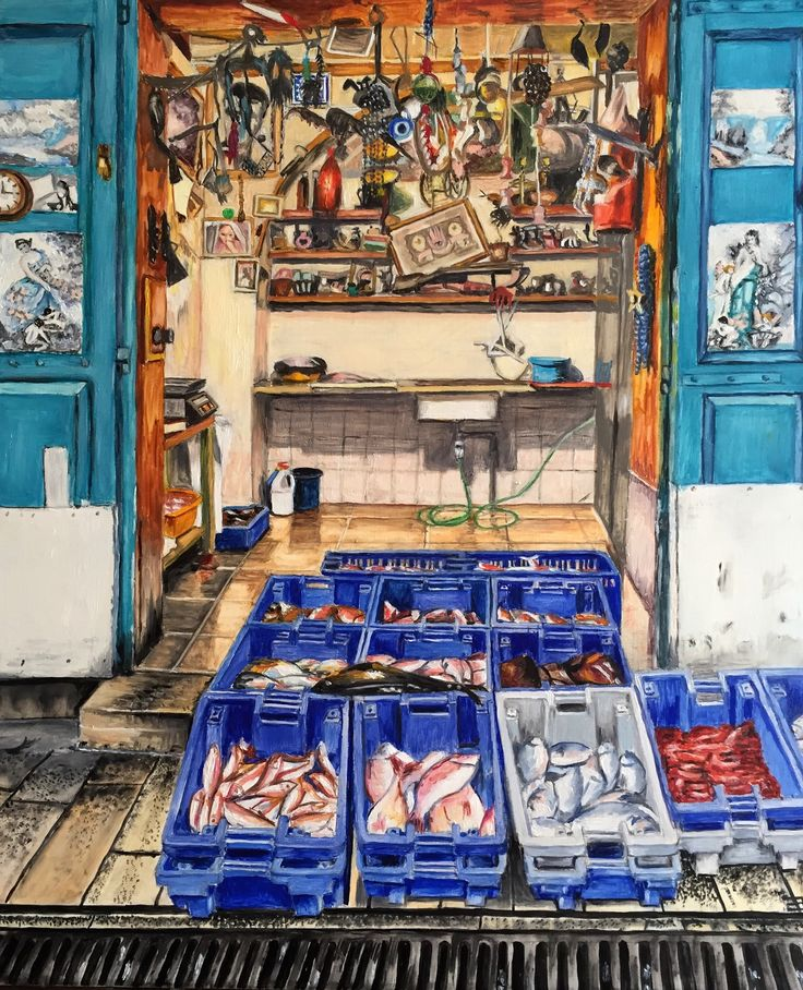 Fish Shop in Jericho