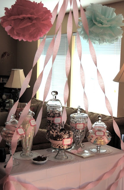 Candy Table Display