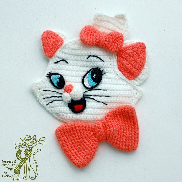 Crochet Patterns. Cartoon Appliques. Simba. by InspiredCrochetToys