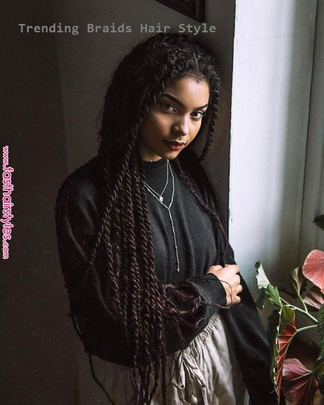 black, braids, and magnificence picture