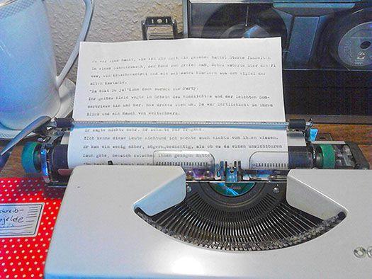 writing places, Schreiborte, Schreibutensilien, Schreibmaschinen, Schreibtische ....