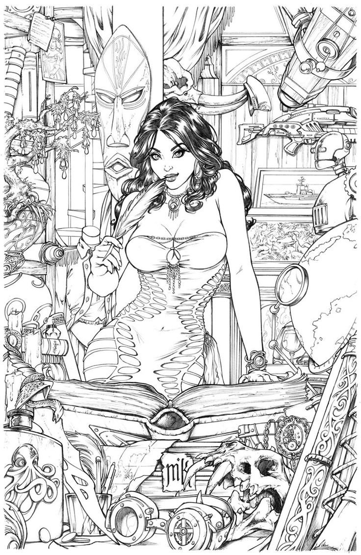 Uncategorized Erotic Coloring Pages 370 best coloring pages images on pinterest books shahrazad issue0 cover pencils by kromespawn deviantart com colouring pagesadult