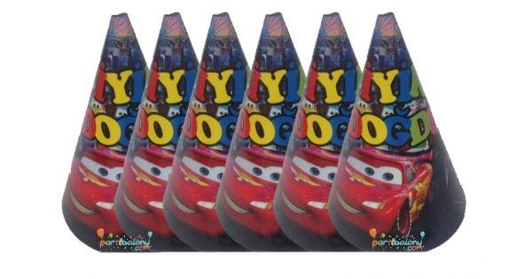 Cars Karton ŞapkaŞimşek Mekkuin Karton Şapka Ürün ÖzellikleriÜrün Paketinde 6 Adet Cars Şapka bulunuyor.Karton Şapka Kaliteli ve canlı renklerdedir.Şimşek Mcqueen temalı şapkalar kartondan üretilmiştir.Doğum günü partilerinin vazgeçilmez bir ürünü olup çocuklara dağıtabilirsiniz.