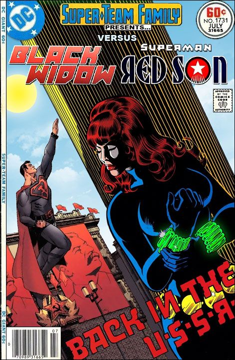 A blog presenting covers to imaginary comic books featuring the greatest team ups that never happened... but should have!