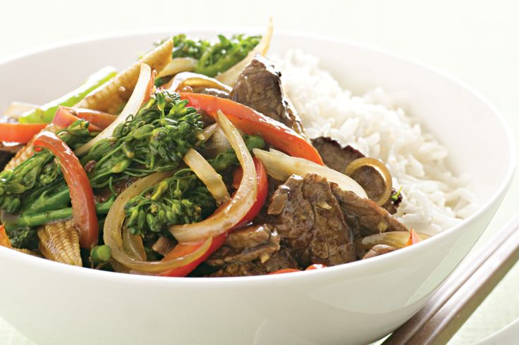 Have dinner on the table in no time with this tasty beef and vegetable stir fry #basic #stirfry http://www.taste.com.au/recipes/14003/basic+beef+and+vegetable+stir+fry