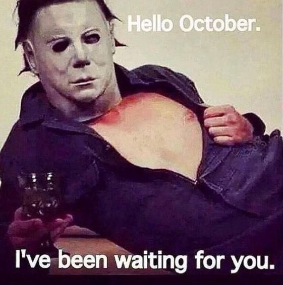 October is finally here again! Yay! I've been waiting for you, October.