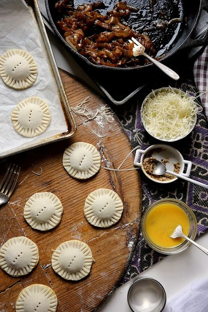 French Onion Pastry Puff Bites by joy the baker, via Flickr