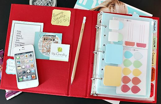 I need this... supplies @ Staples: 7Thhouseontheleft Com, Binder I, Planners Organizations, Life Organizations, Personalized Planners, Organizations Paper, Planners Ideas, 7Th Houses, Households Notebooks