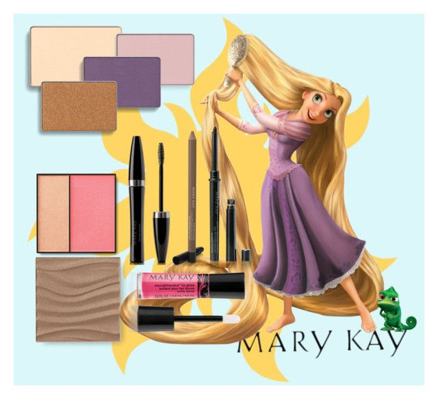 Rapunzel Mary Kay Color by taylormarie213 on Polyvore featuring polyvore, beauty, Mary Kay and Disney