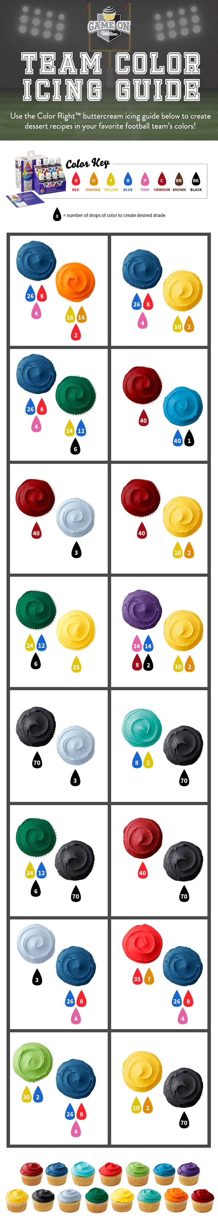 Americolor Gel Paste Color Chart Images - Free Any Chart Examples
