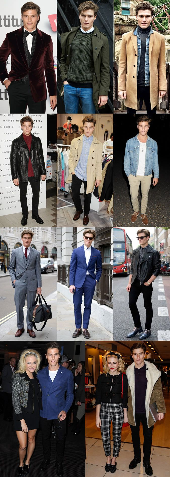 Mr Oliver Cheshire Someone who is currently making fashionable waves both at home and abroad.