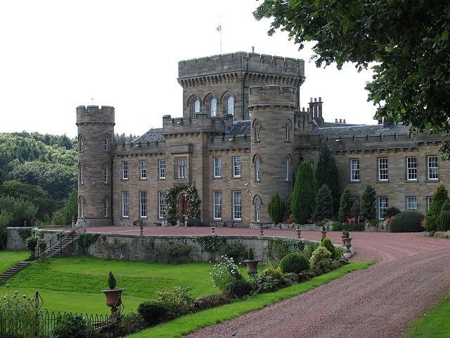 My ancestors castle in Lanark Scotland.