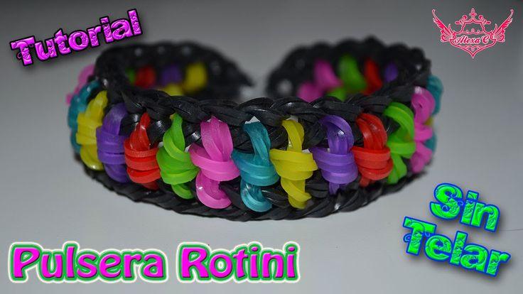♥ Tutorial: Pulsera Rotini (sin telar) ♥