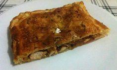 Empanada de pollo casera