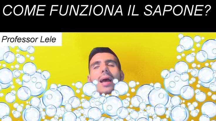 Come fa il sapone a pulire? Scopriamolo insieme con il Professor Lele. #sapone #detergente #bolle #acqua #sporco #pulito #micella #professor #lele #edutubeitalia #youtube #scienza #esperimento