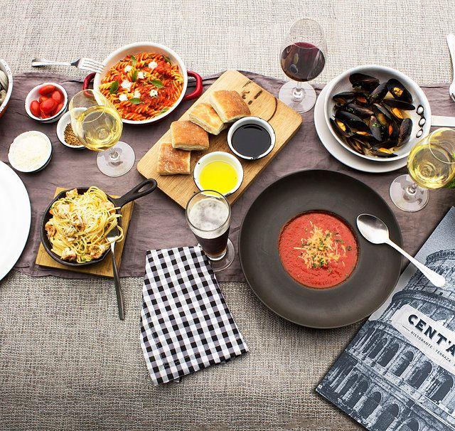Restaurante- Bar de Cocina Italiana. Comida italiana, pizzas a la leña,terraza, musica en vivo, servicio a domicilio.