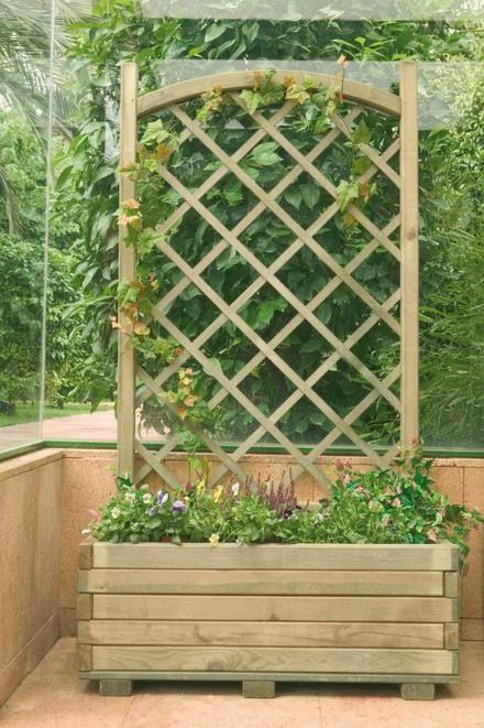 jardineras con palets ver ms jardineras y maceteros de madera interior y exterior santiago