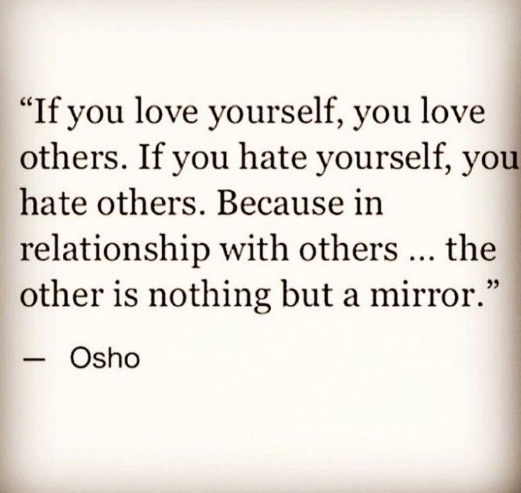 Osho: El otro es nuestro reflejo