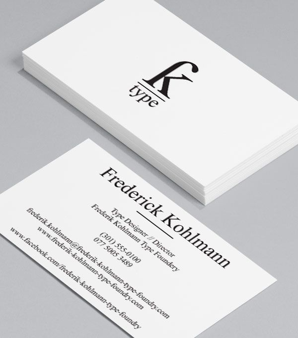14 best Business Cards images on Pinterest | Business card design ...